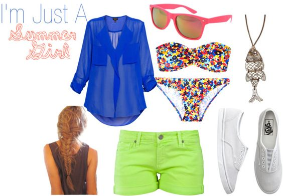 Summer Girl, created by superstar7272 on Polyvore