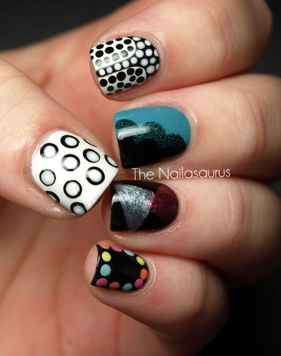 So many choices! Check out @Sammersaurus 5 different manis!