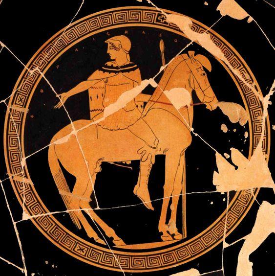 GRECE – Vases Grecs – Arrête ton char