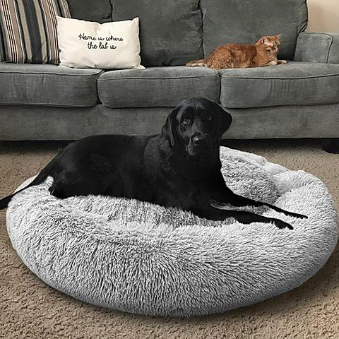New Version Calming Dog Bed With Removable Cover Abbyspace Calm Dogs Dog Bed Large Large Dog Breeds Dog beds with removable covers