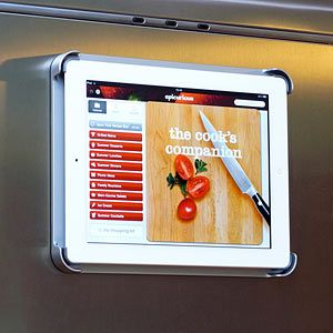 FridgePad - Magnetic Refrigerator Mount for iPad  #ipad #electronics #kitchen #home #shopvibe