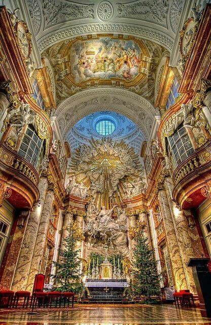 A Church in Vienna Austria