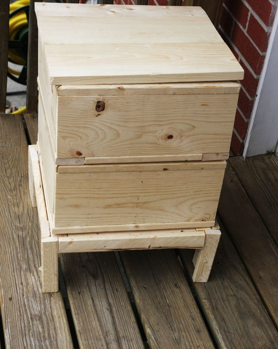 Ana White | Build a Worm Compost Bin | Free and Easy DIY Project and Furniture Plans