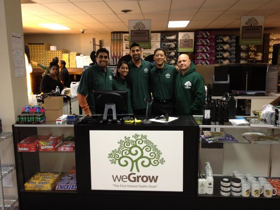 Sanjeev and Parita purchased all the rights for weGrow stores in New Jersey
