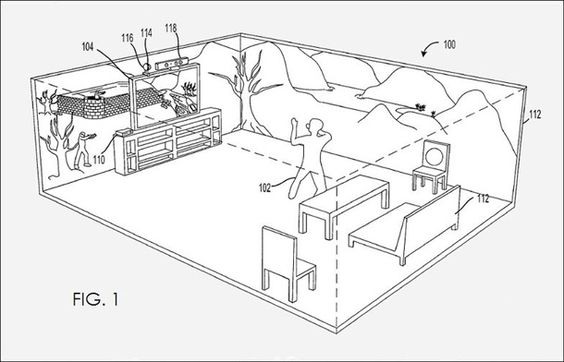 Patent Shows Off Xbox Projection Technology - News - www.GameInformer.com