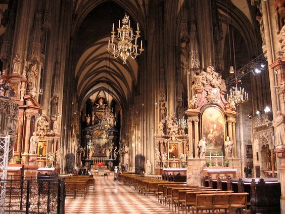 St. Stephen's Cathedral (Stephansdom) in Vienna  [1000 Places To See Before You Die]