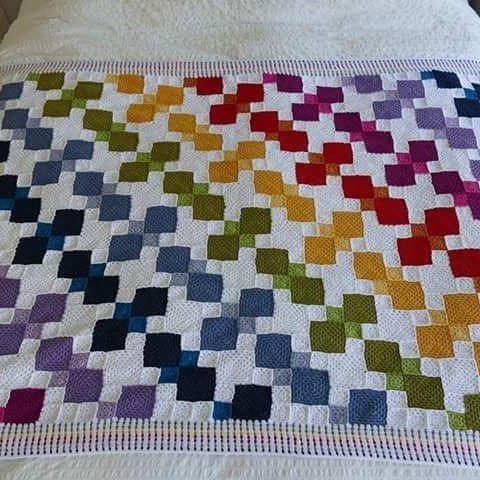 #colcha #crochet #ctejidas