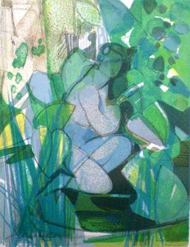 """Jardins"" 1977   Galerie   camillehilaire"