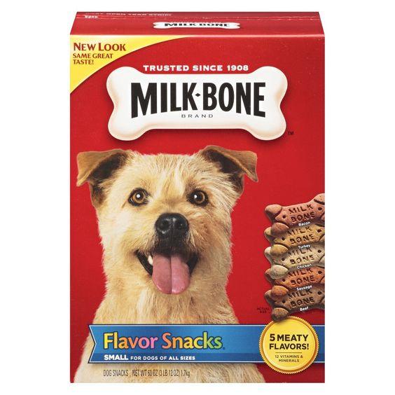 Milk-Bone Biscuits Flavor Snacks 60oz