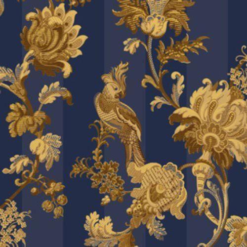 Cole Son Zerzura Royal Blue Gold Wallpaper In 2021 Blue And Gold Wallpaper Gold Wallpaper Gold Wallpaper Pattern