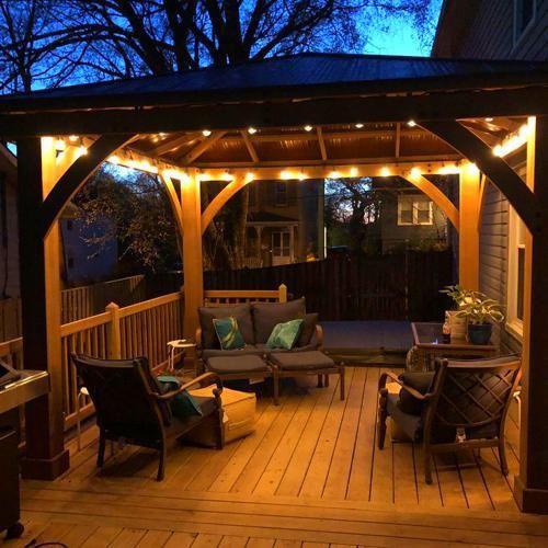 Garden Room In 2020 Hot Tub Garden Backyard Landscape Architecture Patio Gazebo