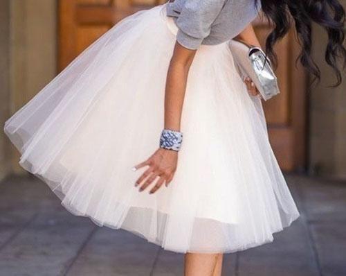 Patrón de falda de capa