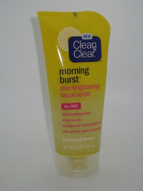 Clean Clear Morning Burst Skin Brightening Facial Scrub Review Musings Of A Muse Skin Brightening Facial Scrubs Skin Cleanser Products