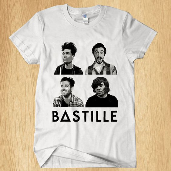 bastille band tee shirts