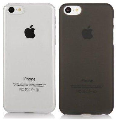 2 x itronik ultra dünne Schutzhülle iPhone 6 Hülle 0,2mm in schwarz und weiß transparent
