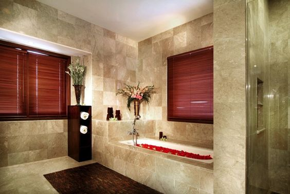 Love the tile and the glass shower