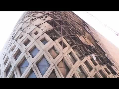 بالفيديو حريق مهول داخل مجمع تجاري قيد الإنشاء في وسط بيروت Leaning Tower Of Pisa Outdoor Structures New Scientist
