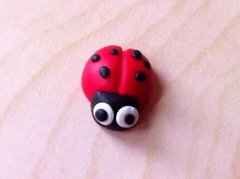deco fimo and ladybugs on pinterest. Black Bedroom Furniture Sets. Home Design Ideas