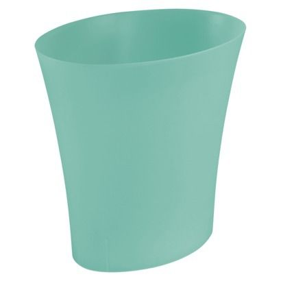 Plastic baskets and turquoise on pinterest for Turquoise bathroom bin