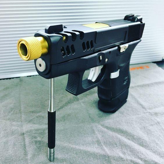 Our custom Glock 26 slide   Glock   Pinterest   Custom ...
