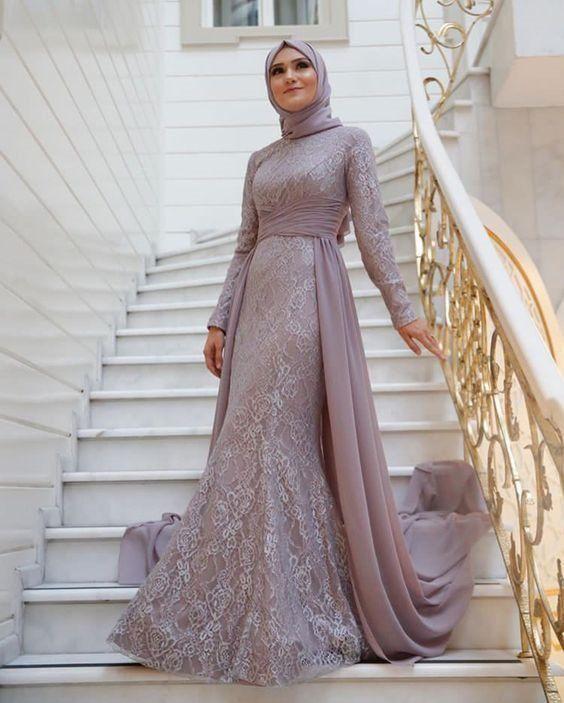 2019 Tesettur Abiye Elbise Modelleri Ve Fiyatlari Alimli Kadin Soiree Dress Muslim Prom Dress Hijab Dress Party