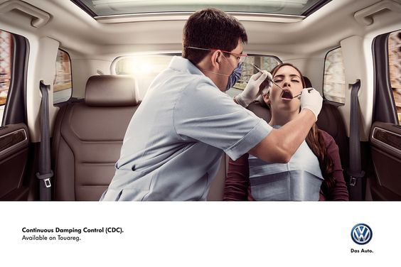 Volkswagen - Continuos Damping Control (CDC) on Advertising Served