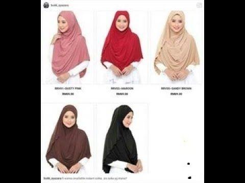 تعليم الخمار الماليزي 2 سيد على Youtube Hijab Fashion Youtube
