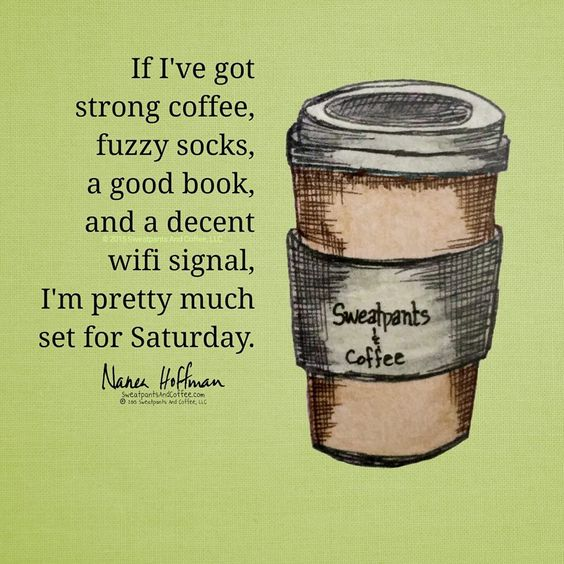 Saturday plans set!