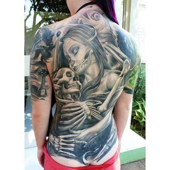 Black & Grey Monster Tattoos – Part 01