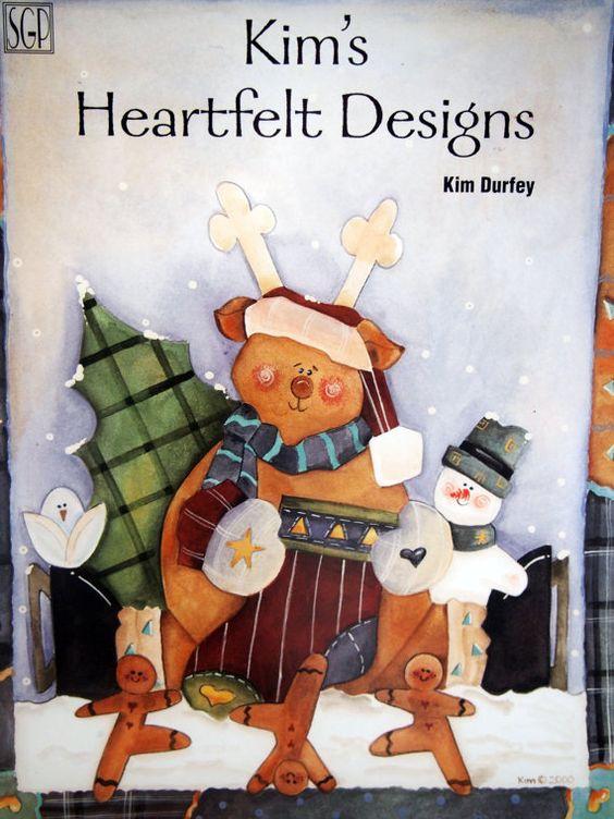 Kim's Heartfelt Designs By Kim Durfey Tole And Decorative Painting by NeedANeedle, $8.75