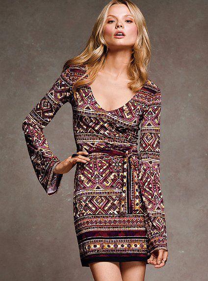 Boho dress from Victoria's Secret.