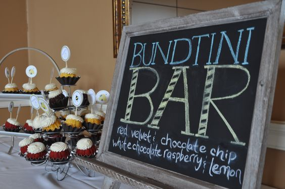 Bundtini Bar - Nothing Bundt Cake