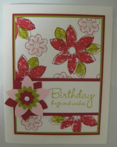 Bud Basics in In Color by LorriHeiling - Cards and Paper Crafts at Splitcoaststampers