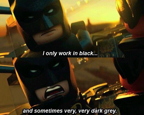 """""""Fine, fine, fine, fine"""" -Batman.:"""