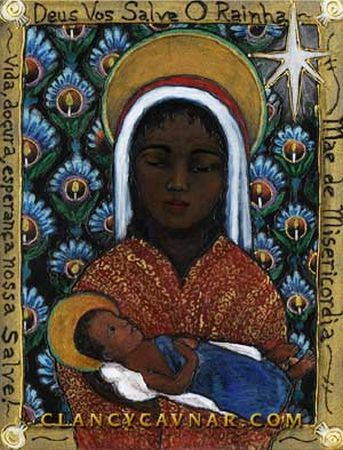 "Black Madonna-my parents were from the city in Poland that was the home of the ""black Madonna"""