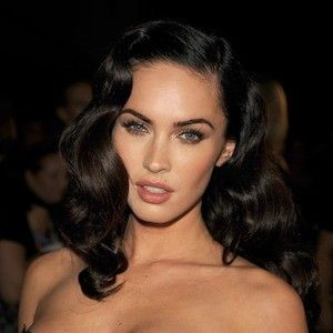 hollywood glamour hairstyles | Ode to Old Hollywood - Megan Fox's Best Hairstyles Ever