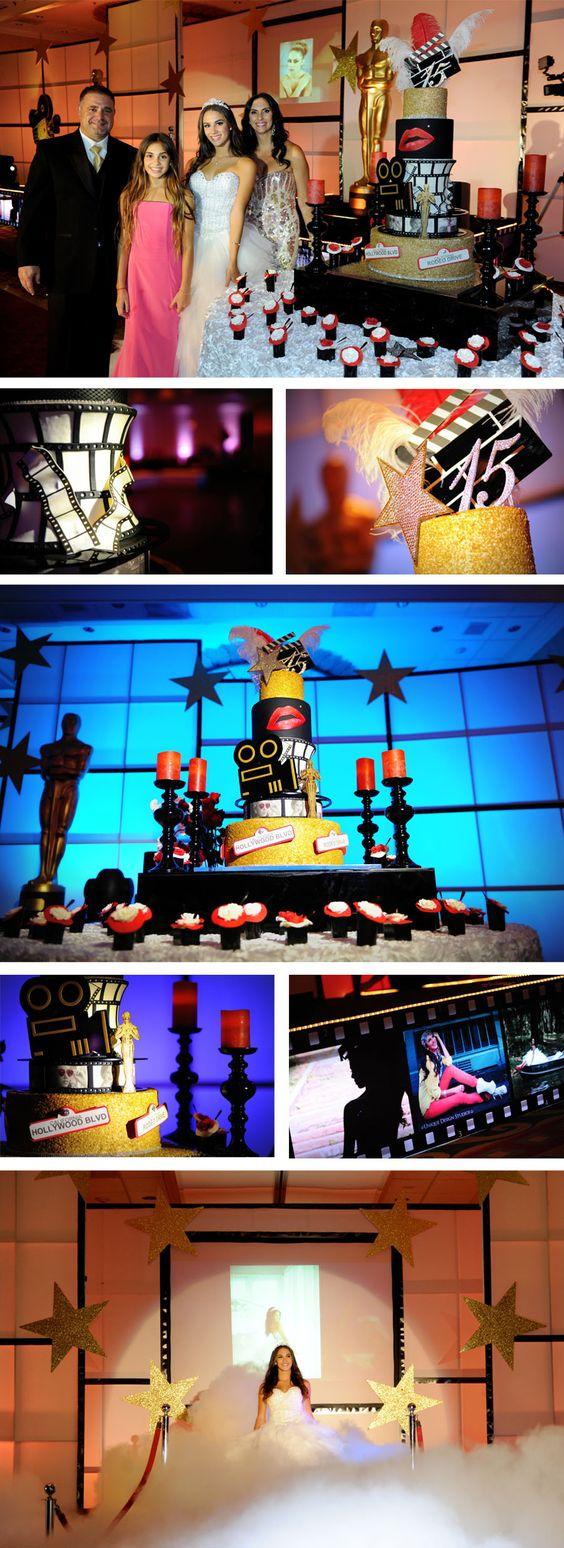 "Mairely Delgado: ""Hollywood Quinces Cake"" by Elegant Temptations www.etcakes.com"