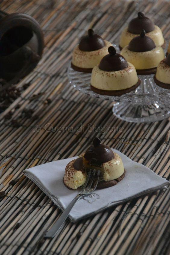 La Cucina di Stagione: Piccoli Tiramisù (ricetta di Montersino)