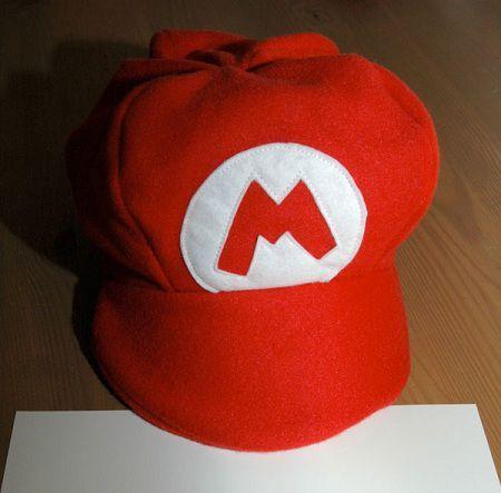 Como hacer un sombrero de Mario Bross