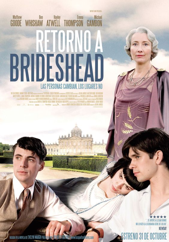 Retorno a Brideshead [VIDEO]. Director: Julian Jarrold. [Madrid] : Manga Films, [2008]. DVD. 128 min.