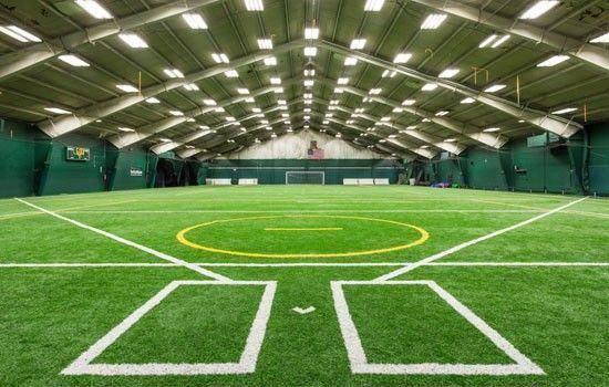 Inspiration For The Daniel J Reed Baseball Training Facility Baseballfield Baseballprospectus Indoor Soccer Field Sports Training Facility Baseball Training