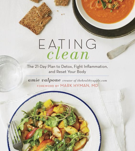 eating clean: the 21-day plan to detox, fight inflammation and reset your body