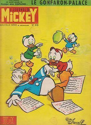 Le Journal de Mickey: Oncl' Donald et ses trois neveux (n° 579, 1963)