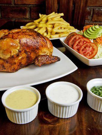Pollo A La Brasa Recipe Peruvian Roast Chicken Eat Peru Recipe Chicken Eating Steak Dinner Sides Pollo A La Brasa Recipe