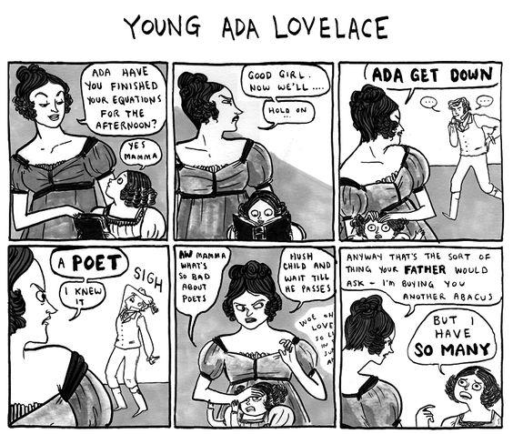 Poets ruin everything: Kate Beaton S, Beaton Webcomics, Kate Beaton Comics, Featuring Ada, Beaton Hark, Historical Comics, Beaton S Amazing
