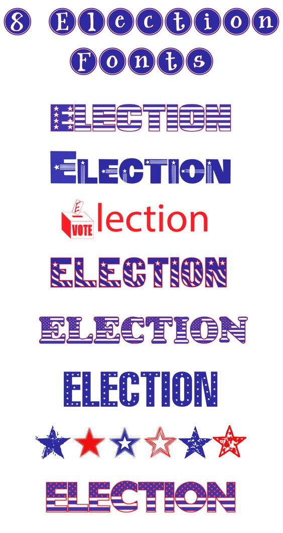 Teaching the election or making a November bulletin board?  You will want to…