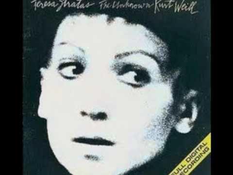 Je ne t' aime pas - Kurt Weill par le trio de  Holly Cole -1993-