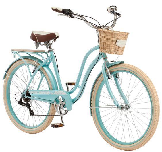 Schwinn Cabo Cruiser Bike 26 Inch Wheels Vintage Style Womens Frame Blue Walmart Com Schwinn Bike Cruiser Bike Schwinn