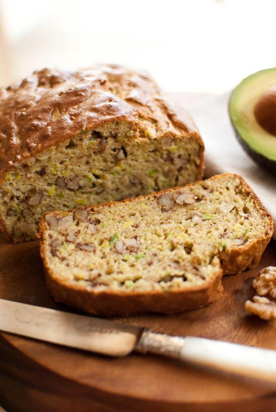 Scandi Home: Avocado and Walnut Bread