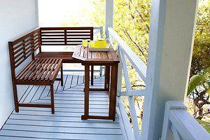 Balkonmeubels voor het balkon. Van trendy en goedkope balkonmeubelen tot design en houten voor het balkon...
